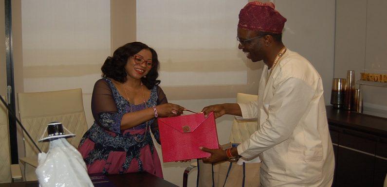 Appreciation Visit to Dr Folorunsho Alakija